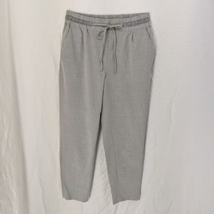 Zara basic grey trousers sz s